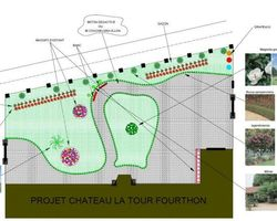 Parcs & Jardins du Médoc - Saint-Laurent-Médoc - PLANS CREATION PARCS ET JARDINS 2 D